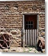 Mill Door Metal Print