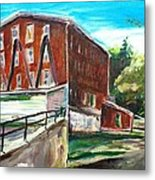 Millbury Mill Metal Print by Scott Nelson