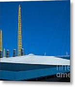 Millennium Dome Abstract Metal Print
