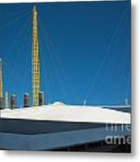 Millennium Dome London Metal Print