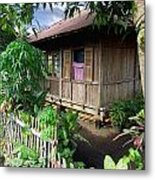 Minahasa Traditional Home 1 Metal Print