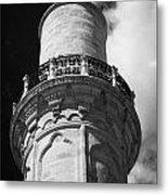 minaret of the 16th century Grand Mosque or Djami Kebir in Larnaca Republic of Cyprus Metal Print