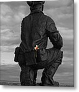 Miner Remembered Metal Print