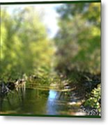Mini Stream Metal Print