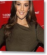 Minka Kelly At Arrivals For Esquire Metal Print by Everett