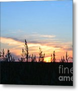 Minnesota Sunset 12 Metal Print