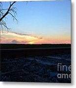 Minnesota Sunset 15 Metal Print