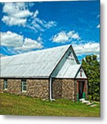 Miracle Revival Center Metal Print