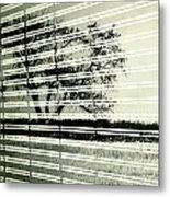 Mirages Wind Metal Print by Empty Wall