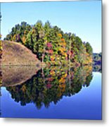 Mirror Image Metal Print by Susan Leggett