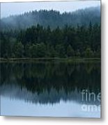 Mirror Reflections Metal Print