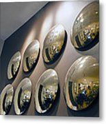 Mirrors Mirrors More Mirrors Metal Print by Kantilal Patel