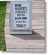 Miss Karen's Metal Print