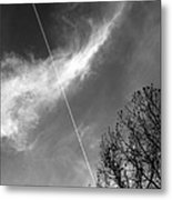 Missed Flight Metal Print