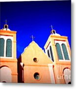 Mission Church Silver City Nm Metal Print