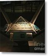Mission Control Center Metal Print