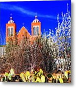 Mission In Silver City Nm Metal Print