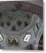 Mission San Xavier Del Bac - Vaulted Ceiling Detail Metal Print