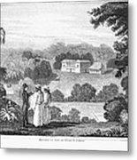 Missionary College, 1837 Metal Print