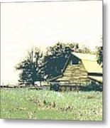 Mississippi Farm Old Highway 61  Metal Print