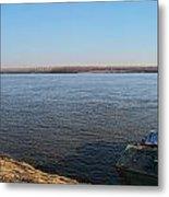 Mississippi River View Metal Print