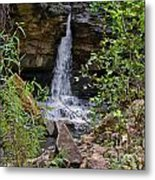 Missouri Waterfall Metal Print