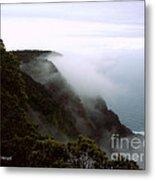 Mists Along The Kalalau Valley Metal Print