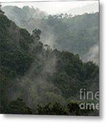 Misty Cloud Forest Matagalpa Nicaragua Metal Print