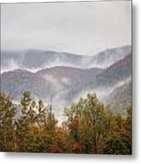 Misty Morning I Metal Print