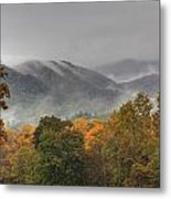 Misty Morning Iv Metal Print by Charles Warren