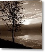 Misty Reflections S Metal Print