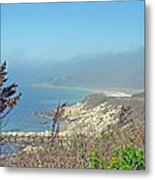 Misty View From Nobska Point - Woods Hole Ma Metal Print