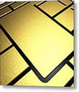Mobile Phone Sim Card Chip Metal Print by Pasieka