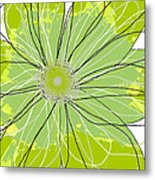 Moda Flower Mix I  Metal Print by Ricki Mountain