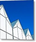 Modern Architecture Metal Print by Tom Gowanlock