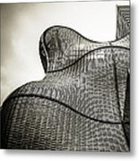 Modern Basket Weaving In London Metal Print