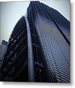 Modern Building In Tokyo Metal Print by Naxart Studio