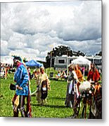 Modern Day American Indian Accent Fx  Metal Print