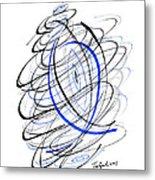 Modern Drawing 111 Metal Print