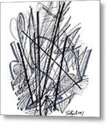 Modern Drawing 112 Metal Print