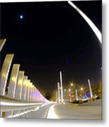 Modern Street Lighting Metal Print