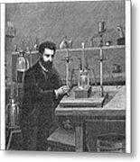 Moissan Isolating Fluorine, 1886 Metal Print