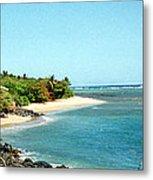 Molokai Shore Metal Print
