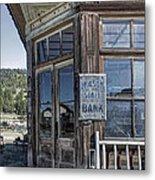 Molson Washington Ghost Town Bank Metal Print