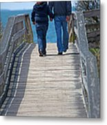 Moments With Dad Metal Print