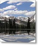 Monarch Pass Lake Metal Print