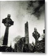 Monasterboice, Co Louth, Ireland Metal Print