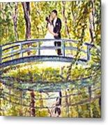 Monet Wedding Metal Print