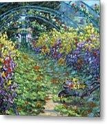 Monet's Autumn Metal Print