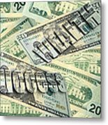 Money Wealth And Success Metal Print